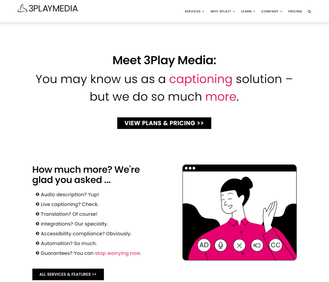 3play media video accessibility service