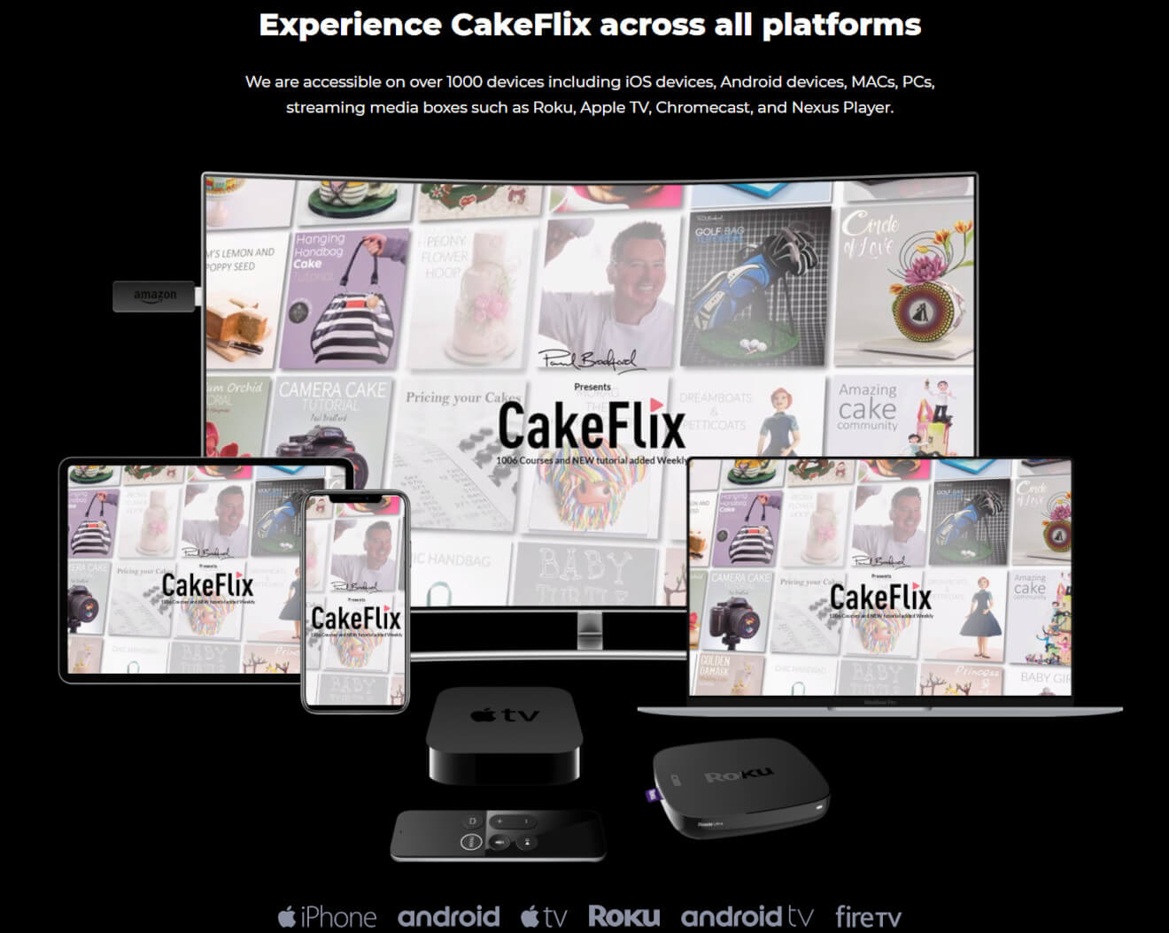 cakeflix video streaming service