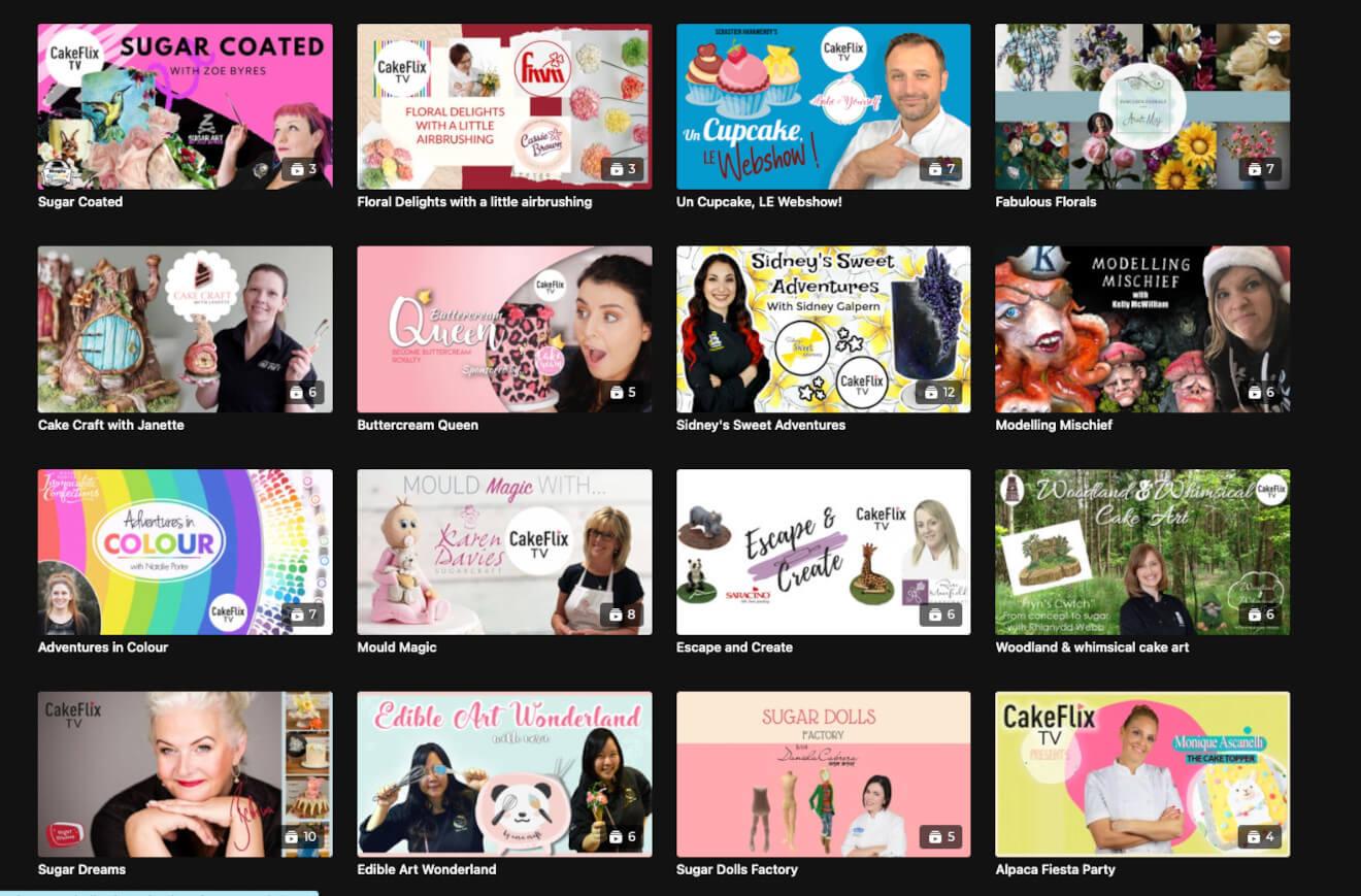 Cakeflix video website