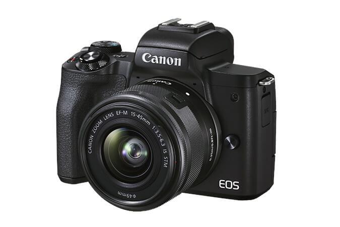 canon m50 mark II vlog camera