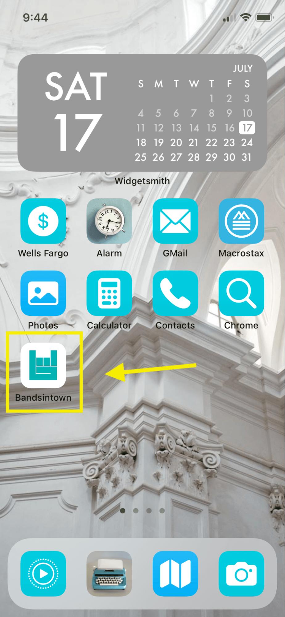 homescreen ott app