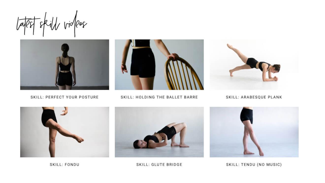 Naturally Sassy ballet tutorials
