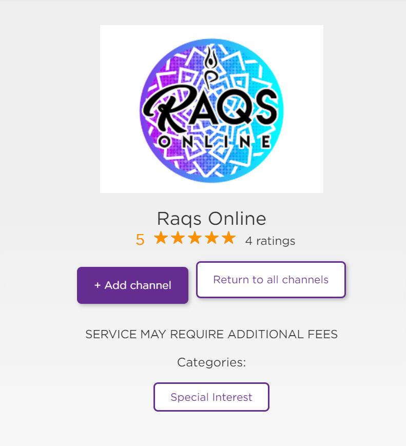 raqs online ott app