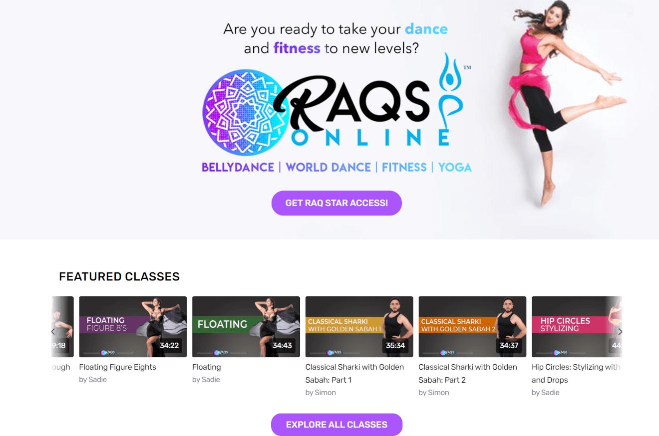 raqs online streaming website