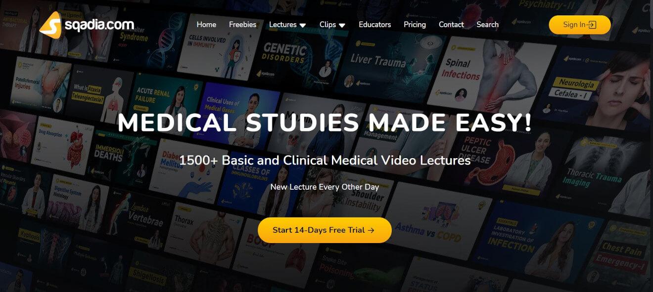 sqadia medical studies svod