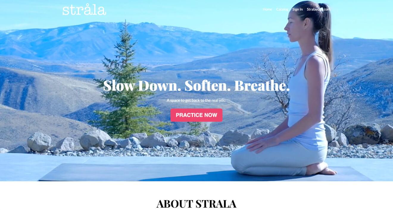 strala yoga classes
