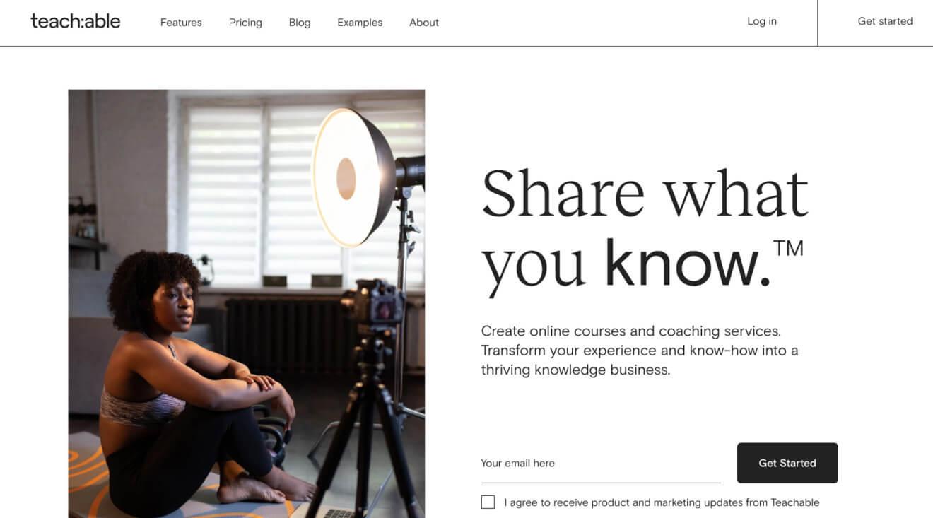 teachable platform for course creators