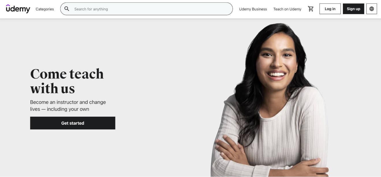 udemy online teaching platform