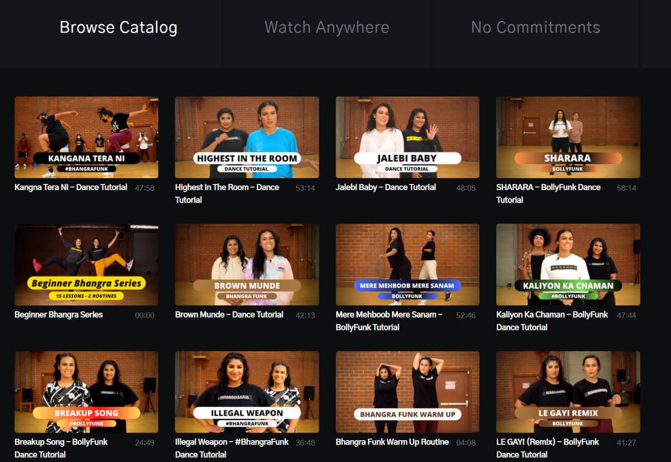 bfunk content catalog