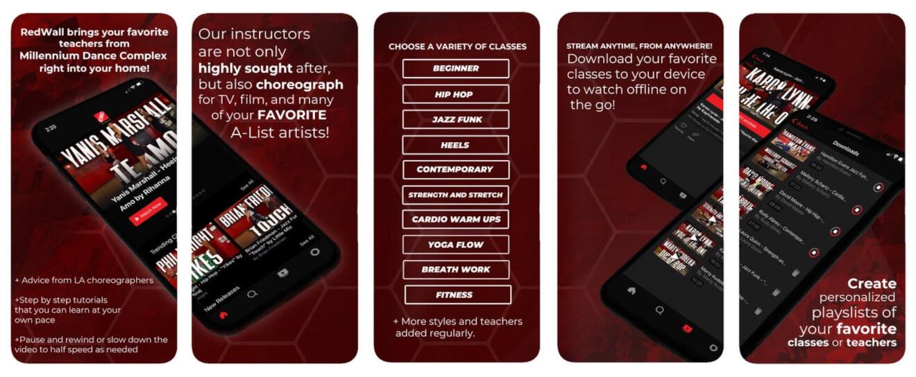 redwall tutorials mobile app